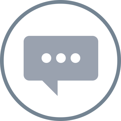 illustration of chat bubble