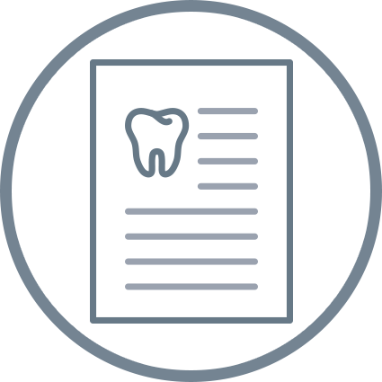 illustration of webpage and tooth