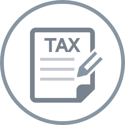 tax document icon