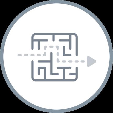 Four Quadrants Pillar Page Icon - Exit