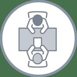 Four Quadrants Pillar Page Icon - Hiring